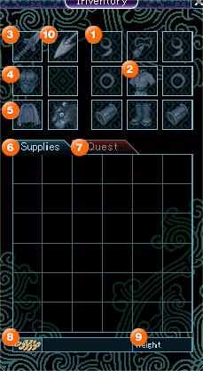 Inventory Window