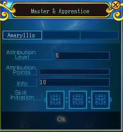 Apprentice interface